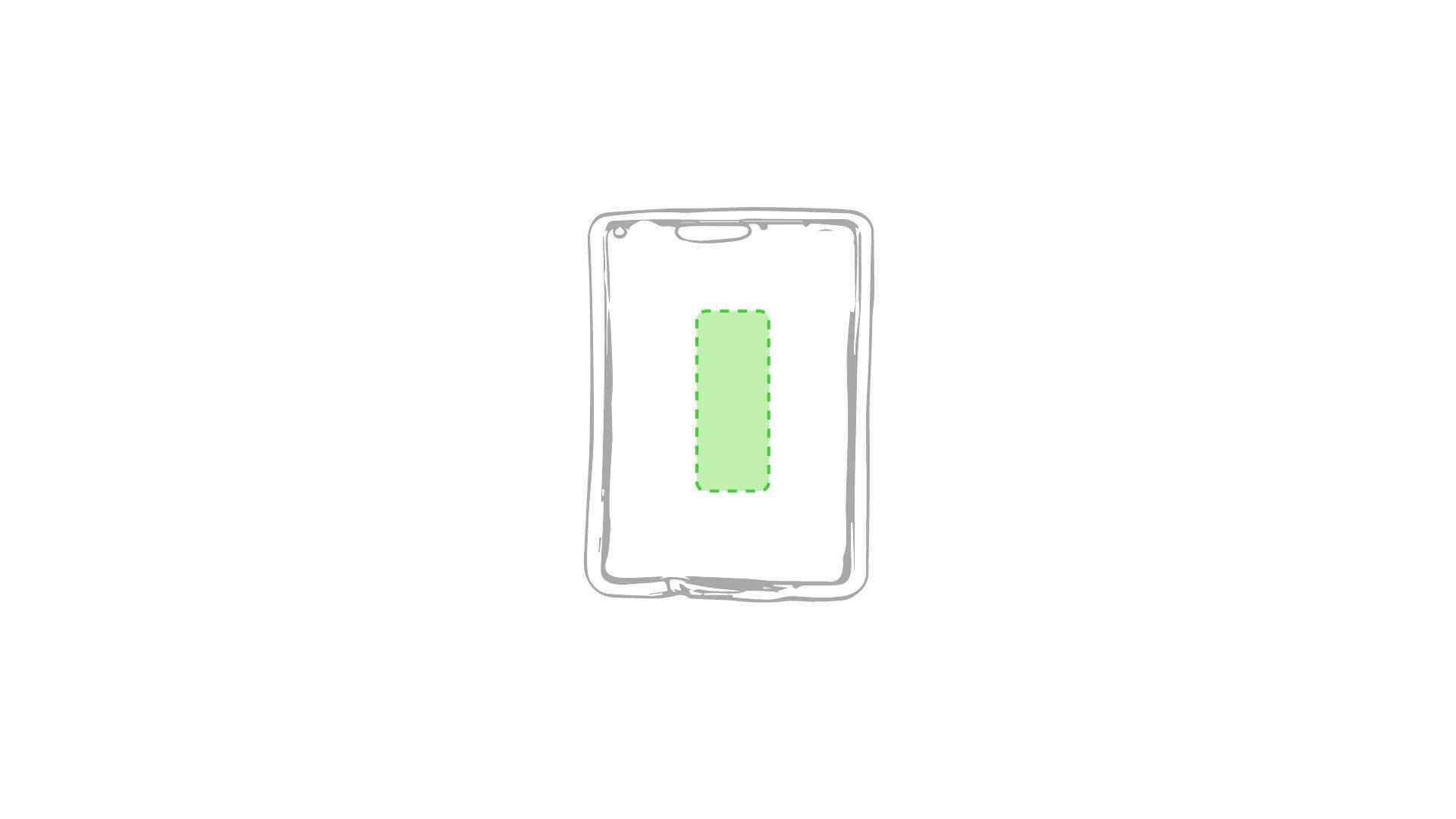 Parche de calor rectangular 1