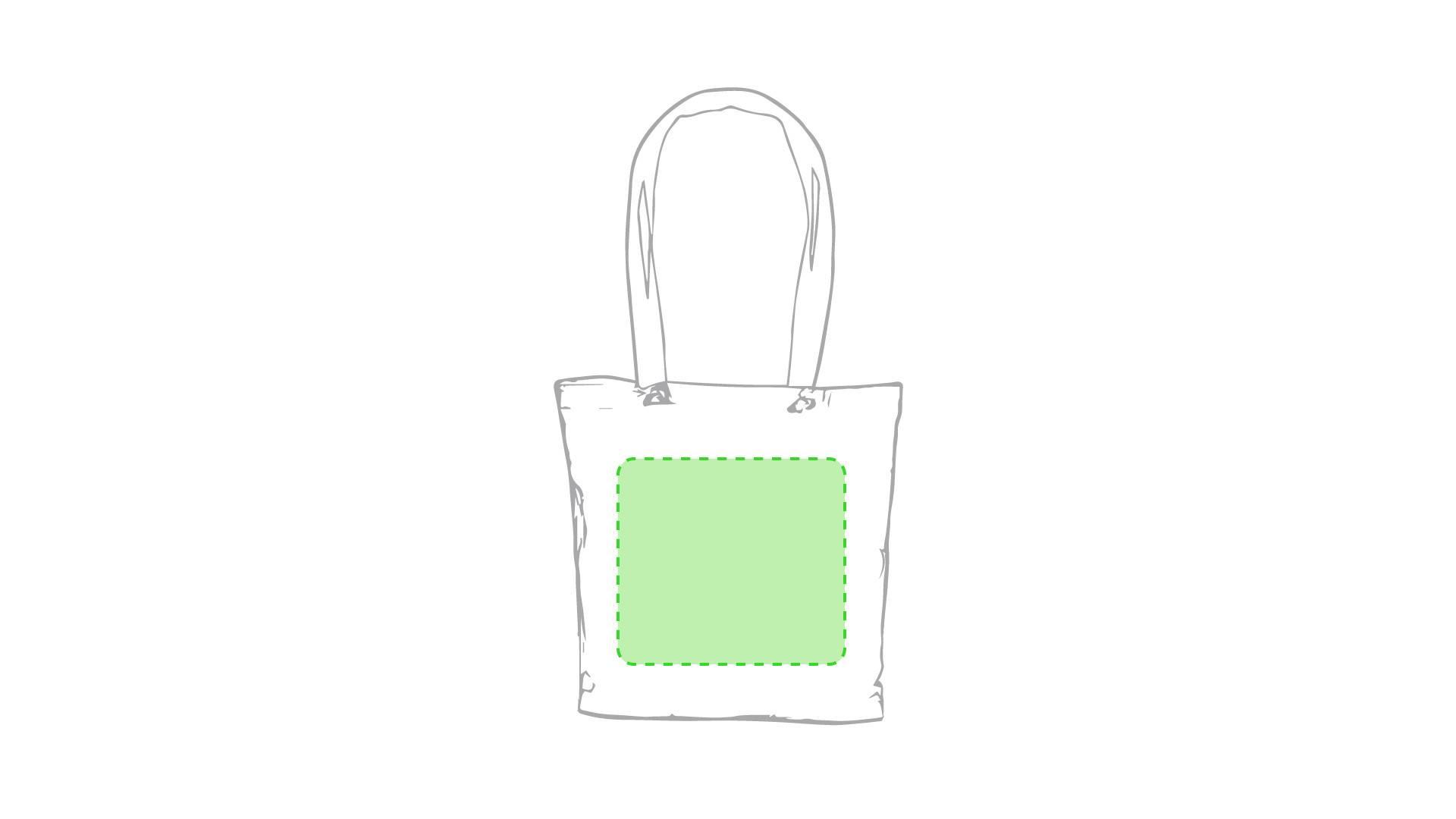 Bolsa de algodón con asa de colores 1