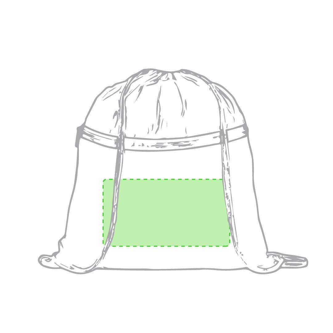 Mochila de algodón con bolsillo 1