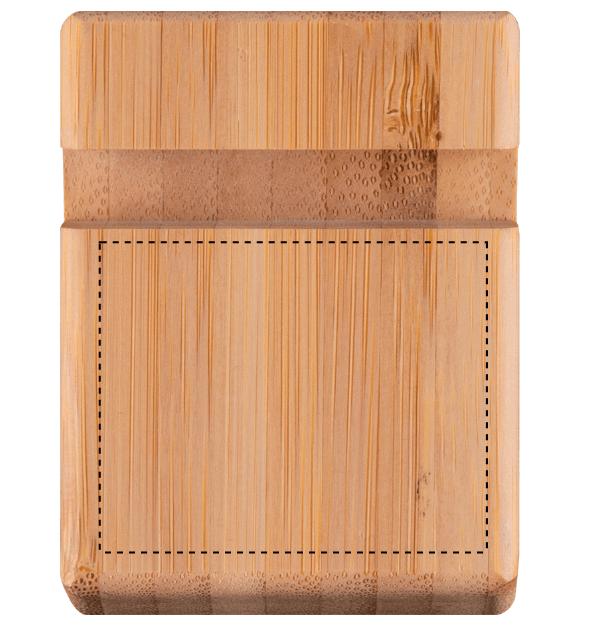 Soporte de bambú para móvil o tablet 1