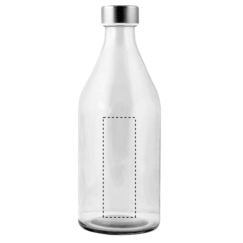 Botella de cristal 1 litro 1