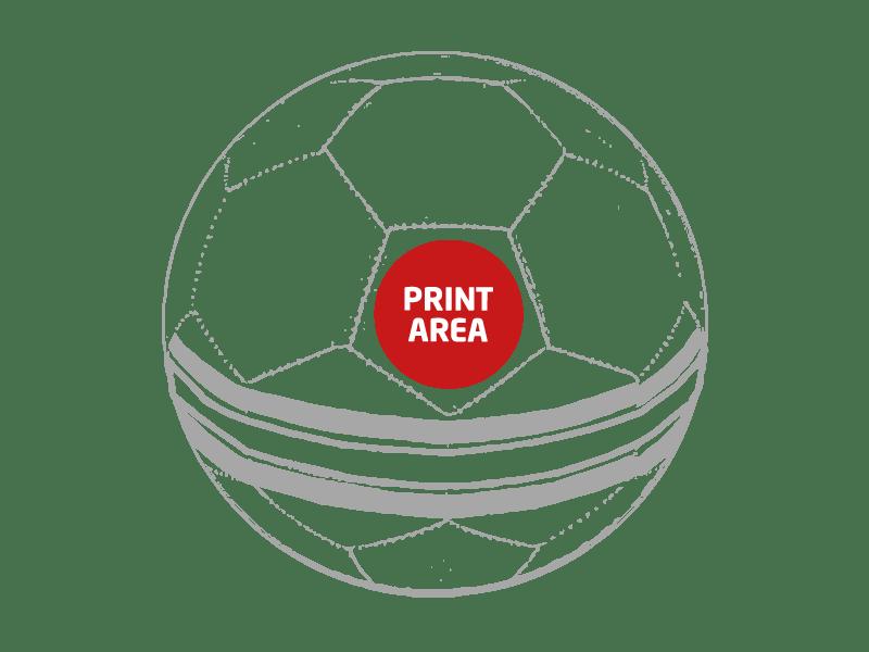 Balón de Fútbol con bandera de España 1
