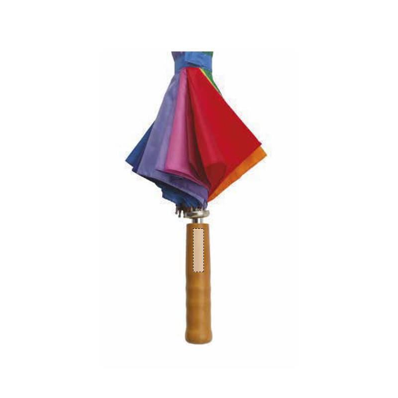 Paraguas multicolor 2