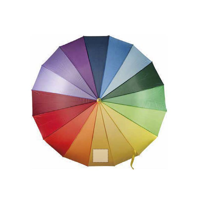 Paraguas multicolor 1
