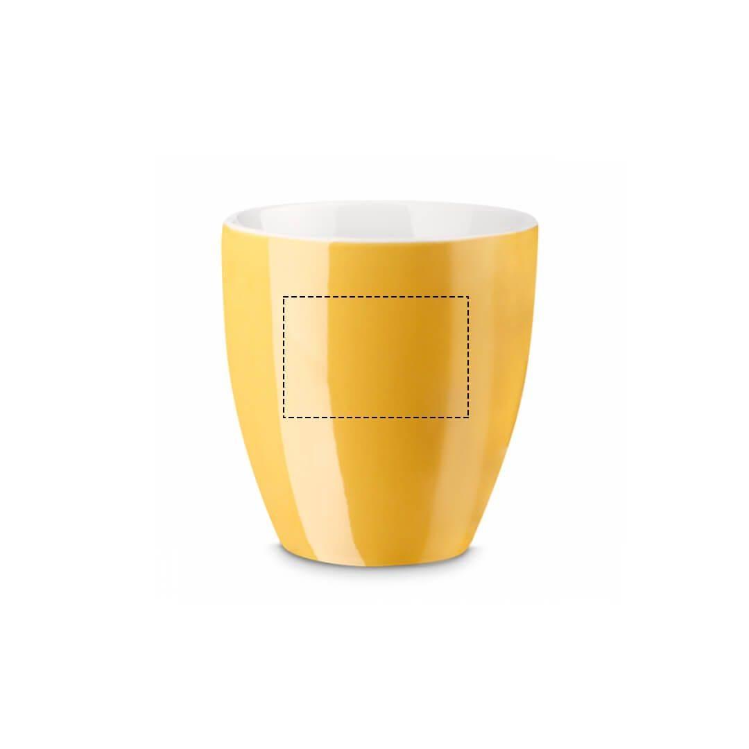 Taza de porcelana con hidroglasear 2