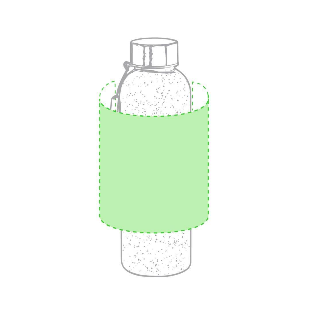 Botella de fibra de bambú 1