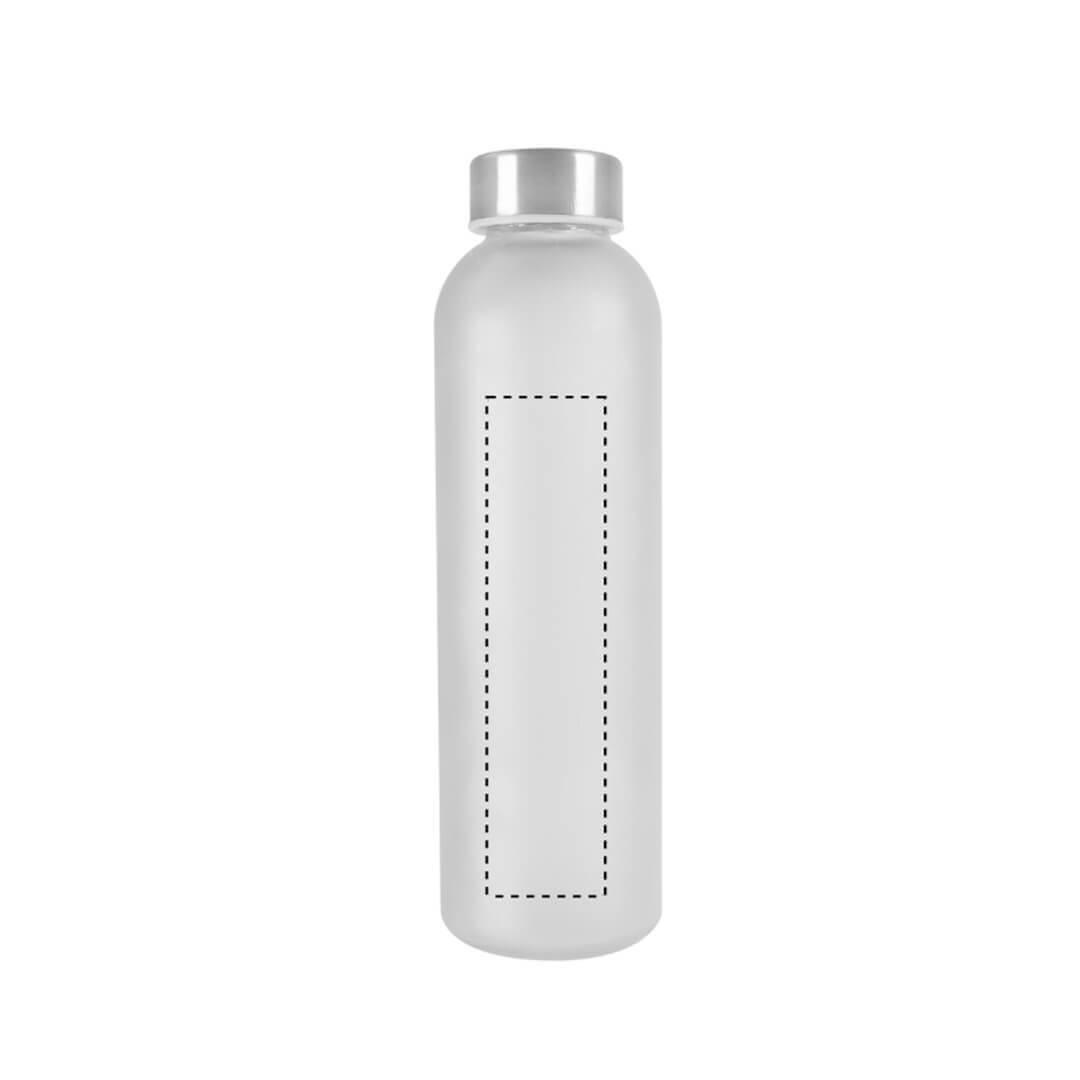 Botella de cristal mate 1