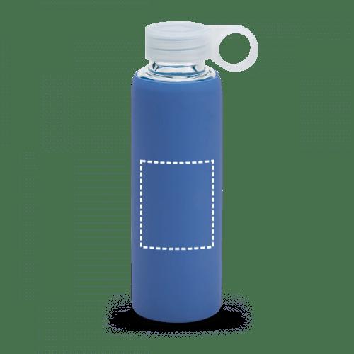 Botella de borosilicato con funda de neopreno 1