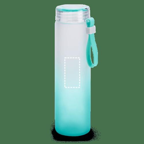 Botella de borosilicato degradado 1