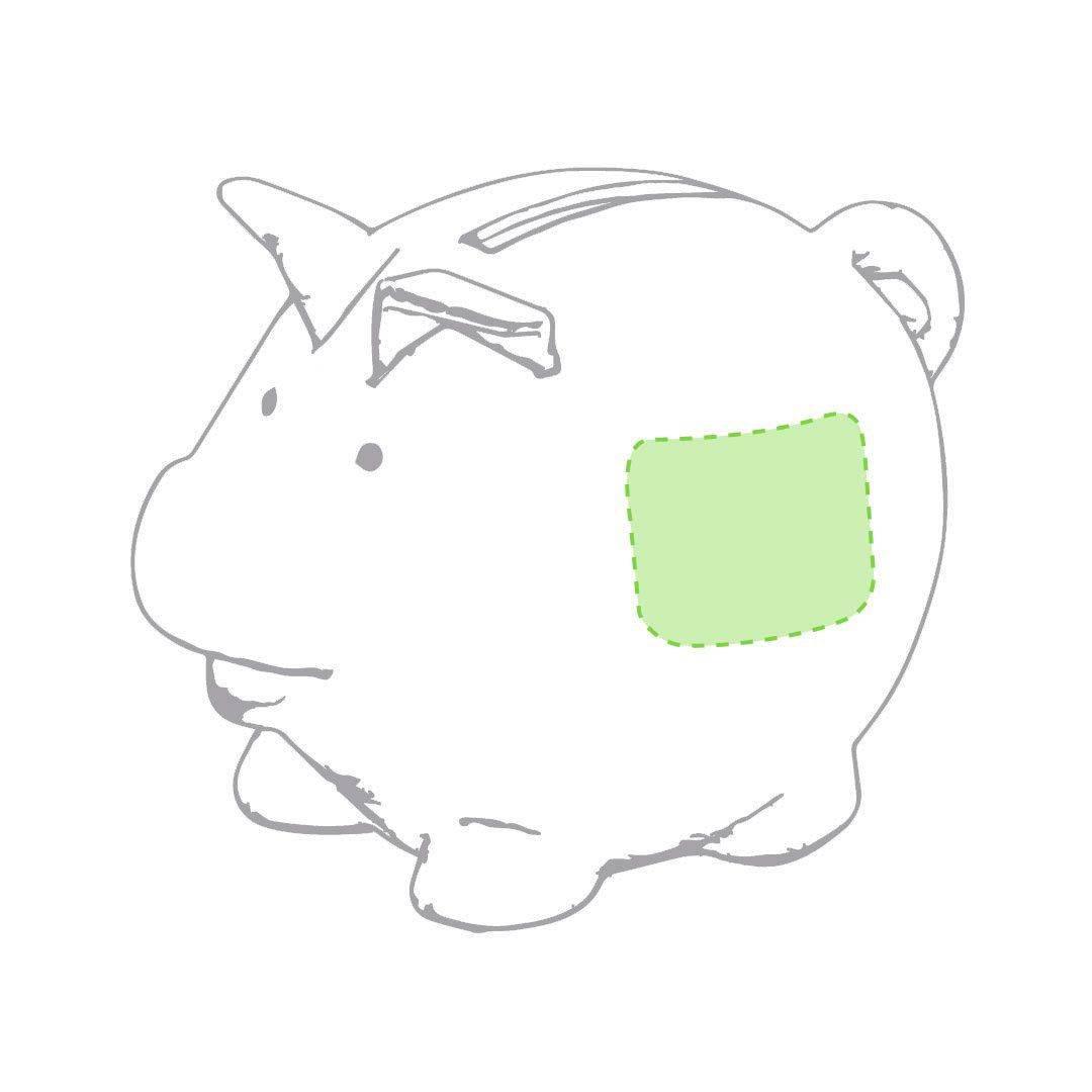 Hucha de cerdito ecológica 1