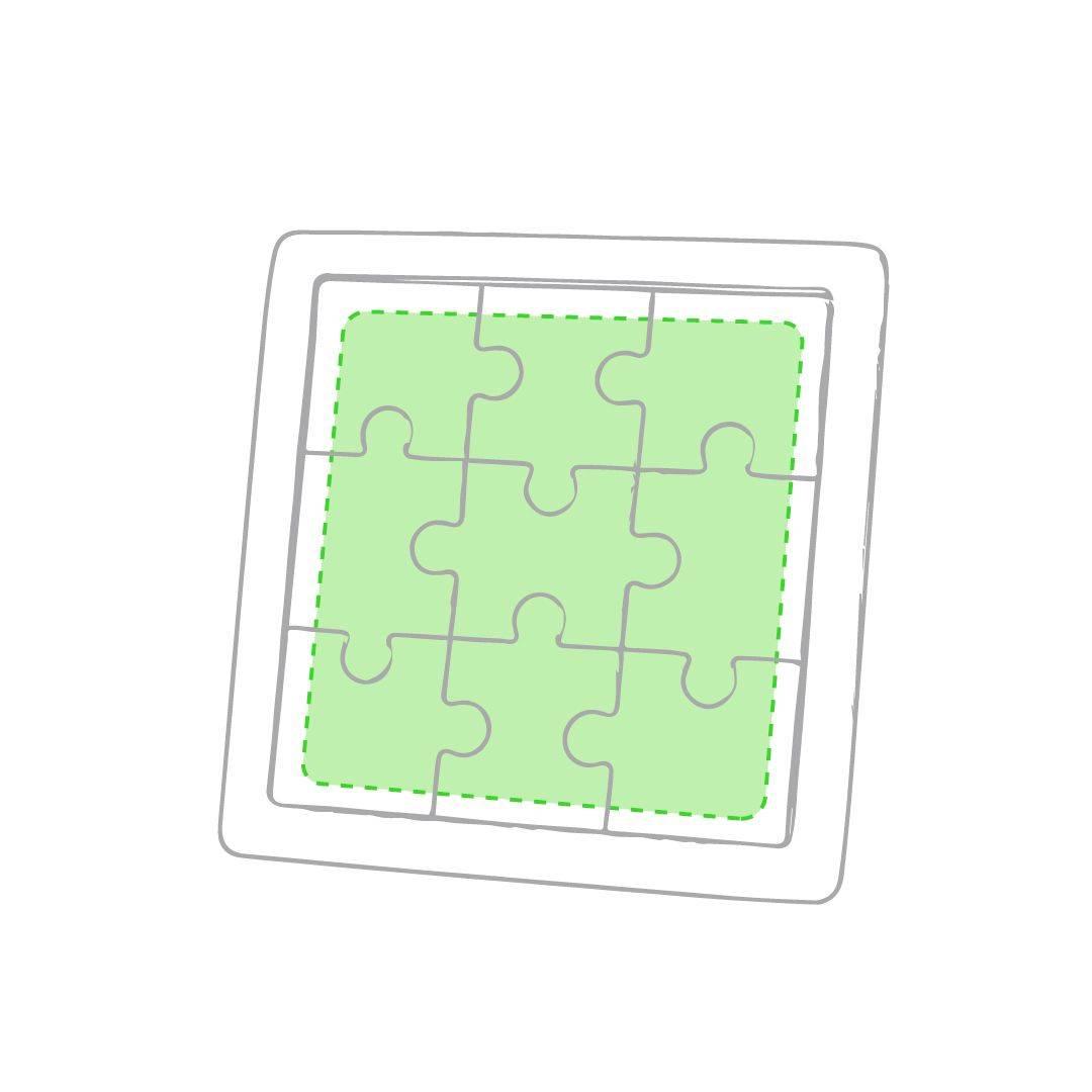Puzzle de madera para personalizar 1