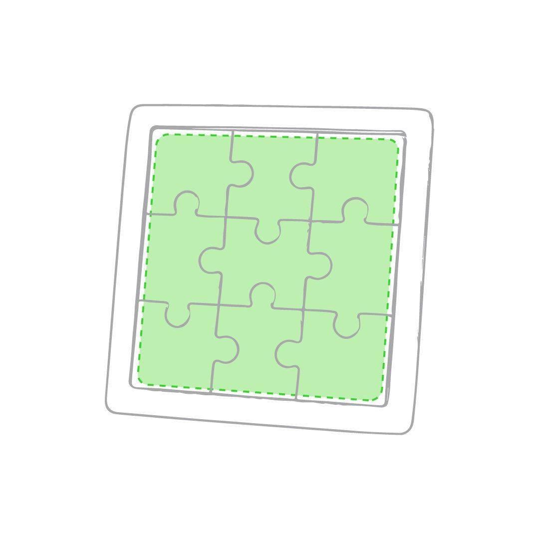 Puzzle de madera para personalizar 2
