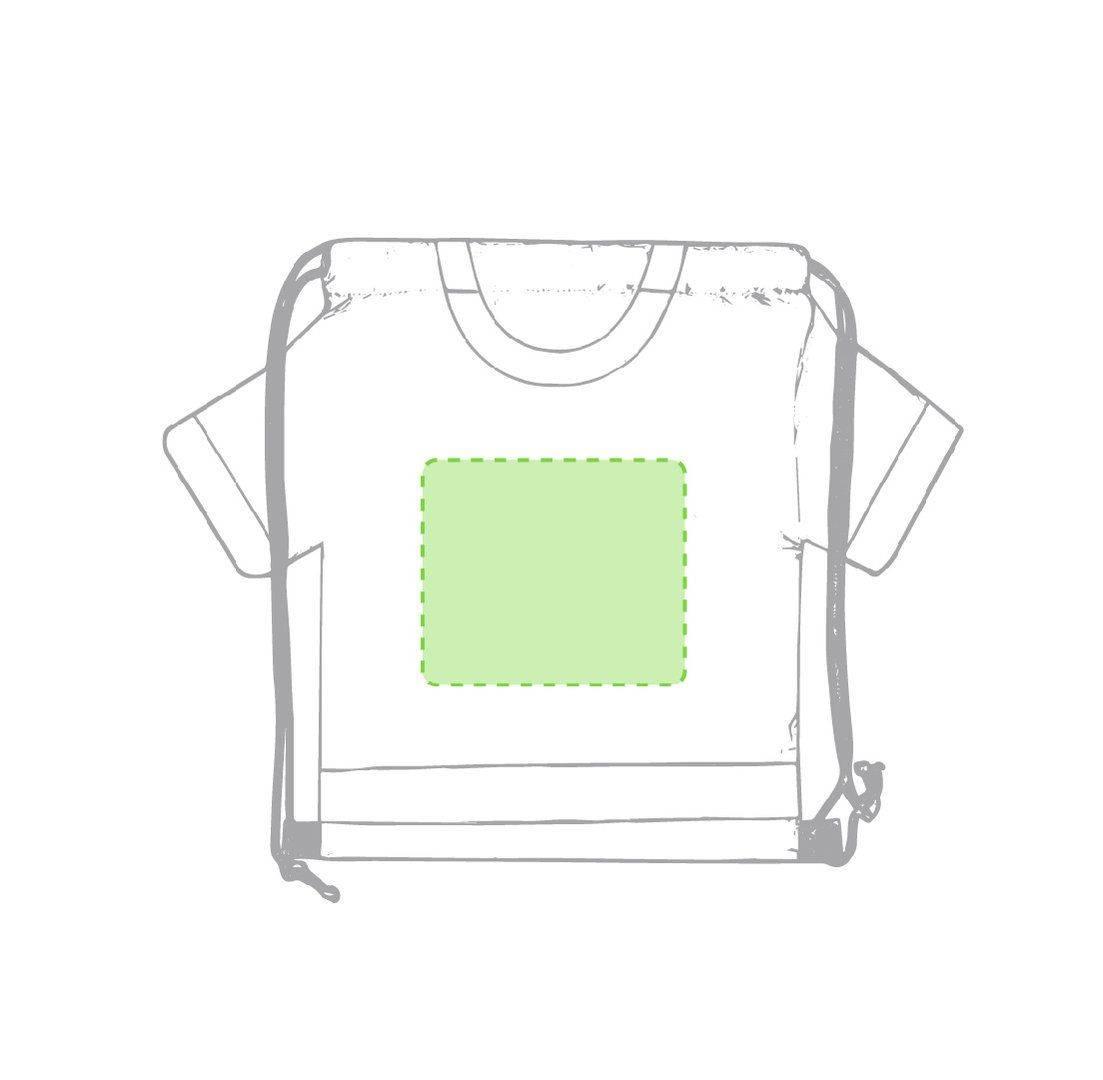 Mochila con forma de camiseta infantil 1
