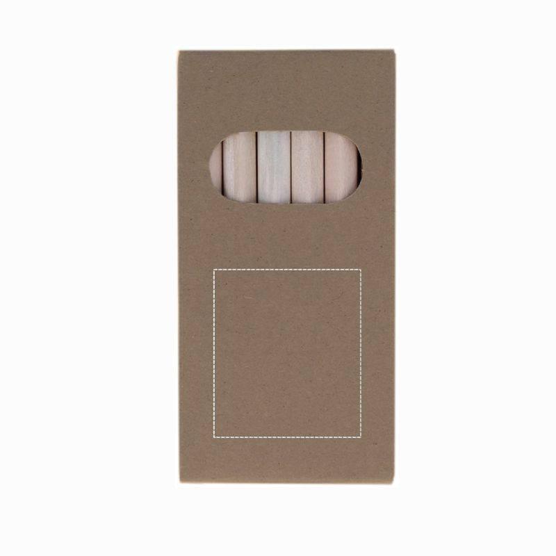 Lapices en caja de cartón 1