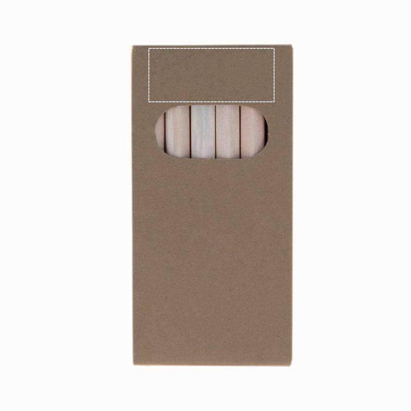 Lapices en caja de cartón 3