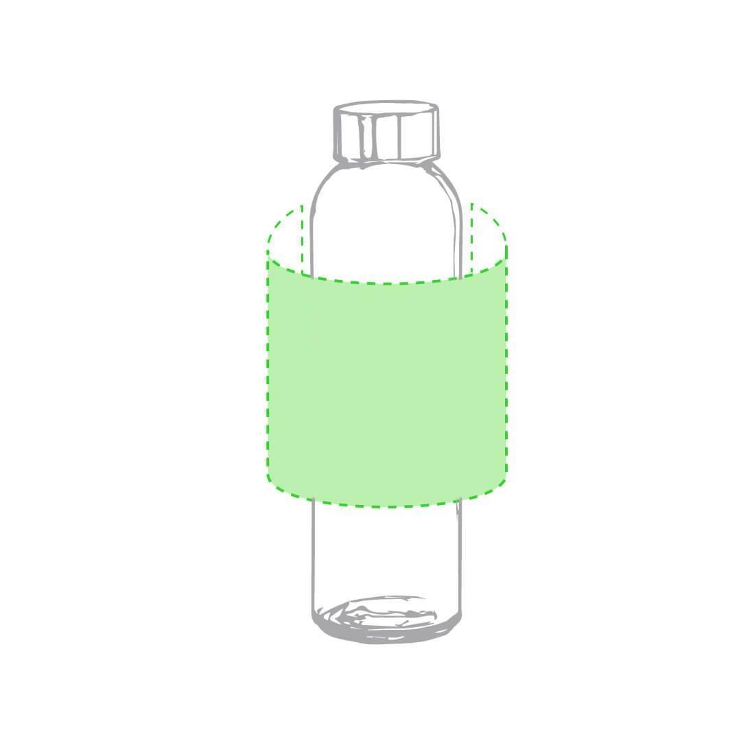 Botella de cristal de colores 1