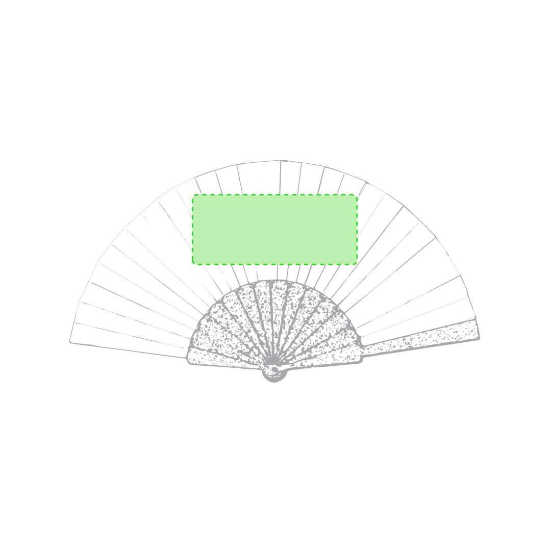 Abanico reciclado de bambú y RPET 2