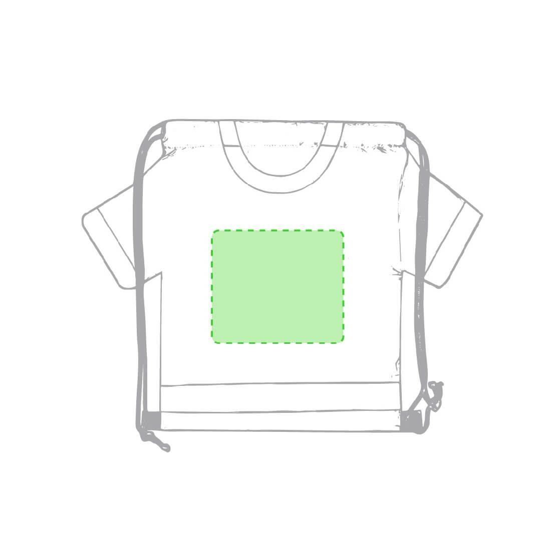 Mochila con forma de camiseta adulto 1