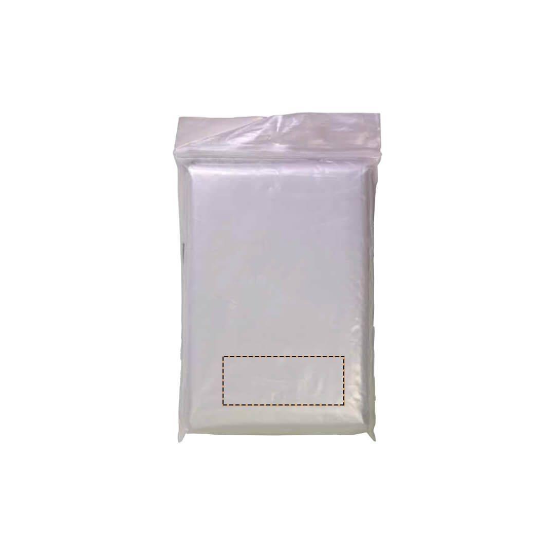 Poncho de lluvia biodegradable 1