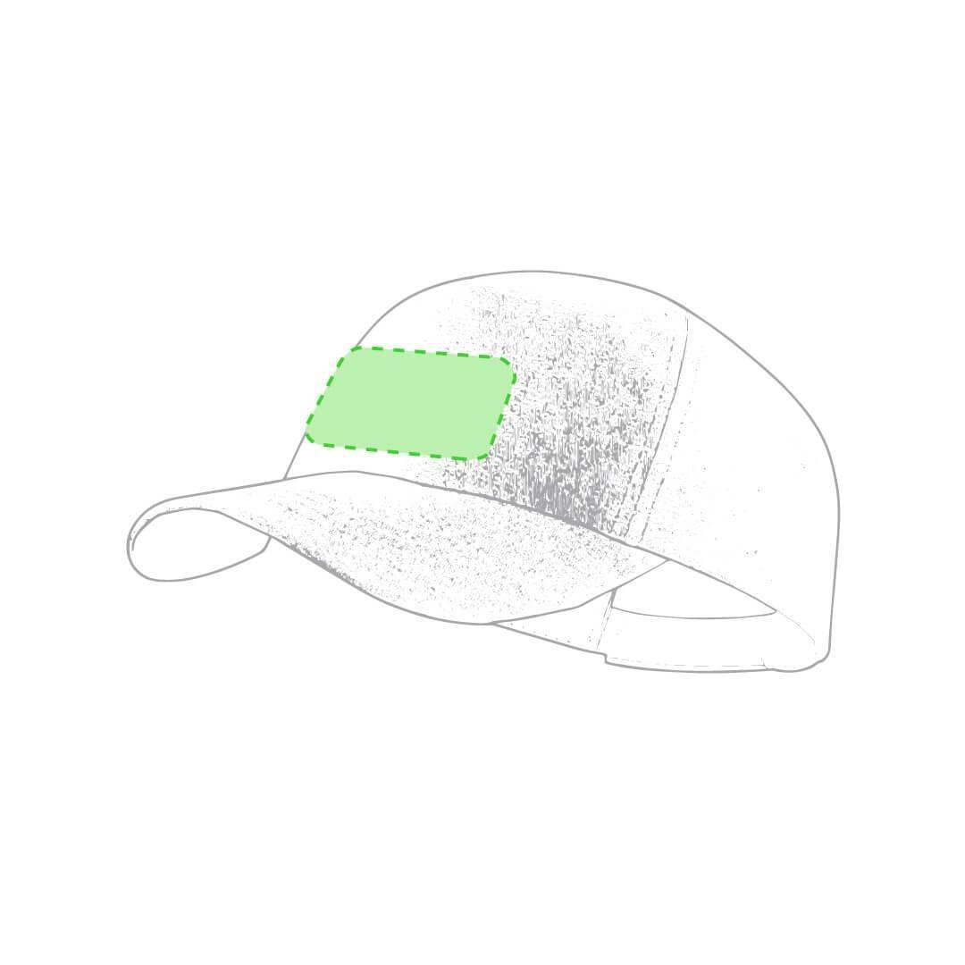 Gorra de plástico reciclado RPET 1