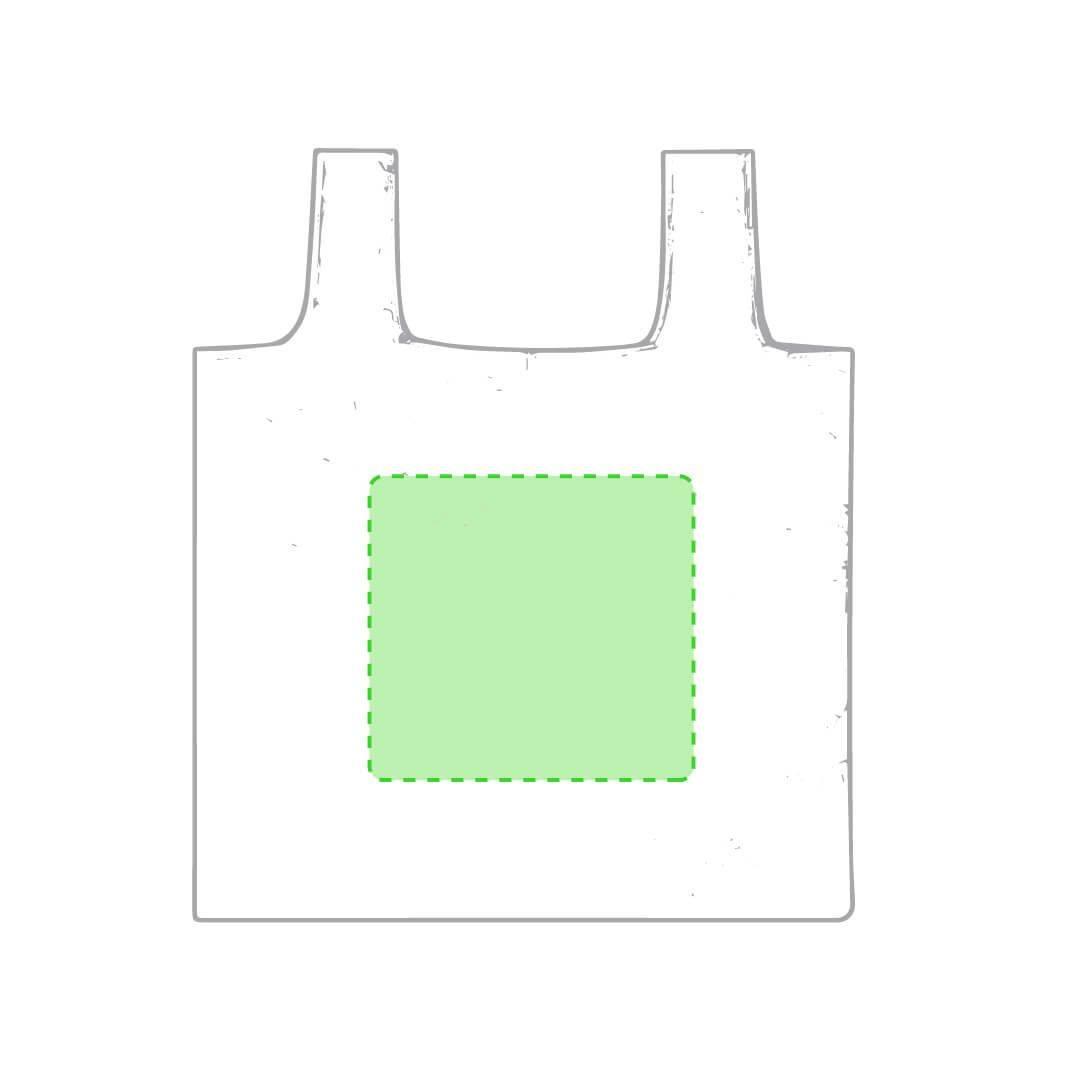 Bolsa plegable de plástico reciclado RPET 2