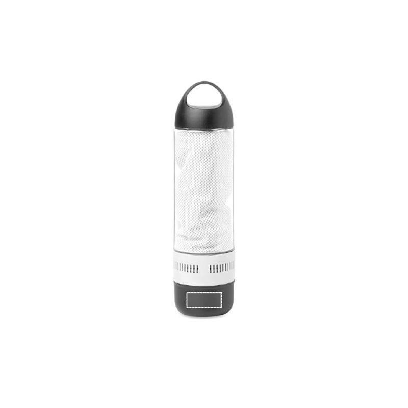 Botella de tritán con altavoz Bluetooth 1
