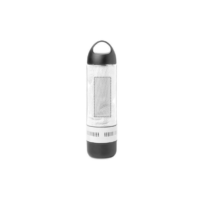 Botella de tritán con altavoz Bluetooth 3