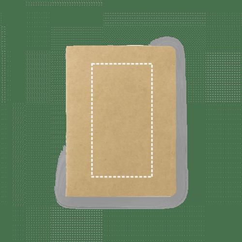 Bloc de notas reciclado con bolsillo 1