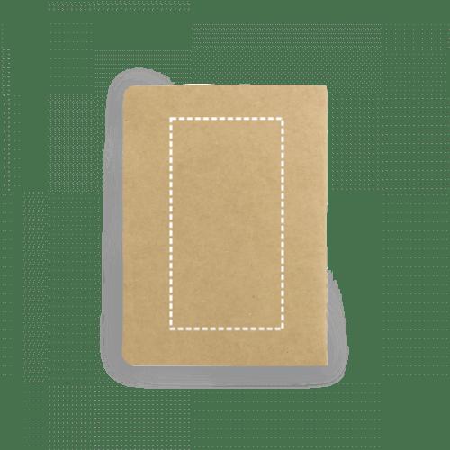 Bloc de notas reciclado con bolsillo 2