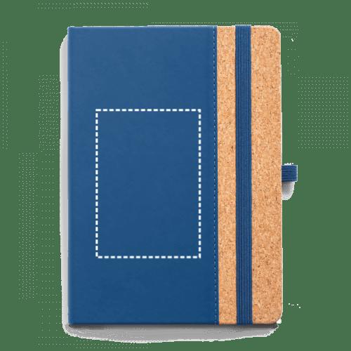 Bloc de notas con tapas de corcho 1