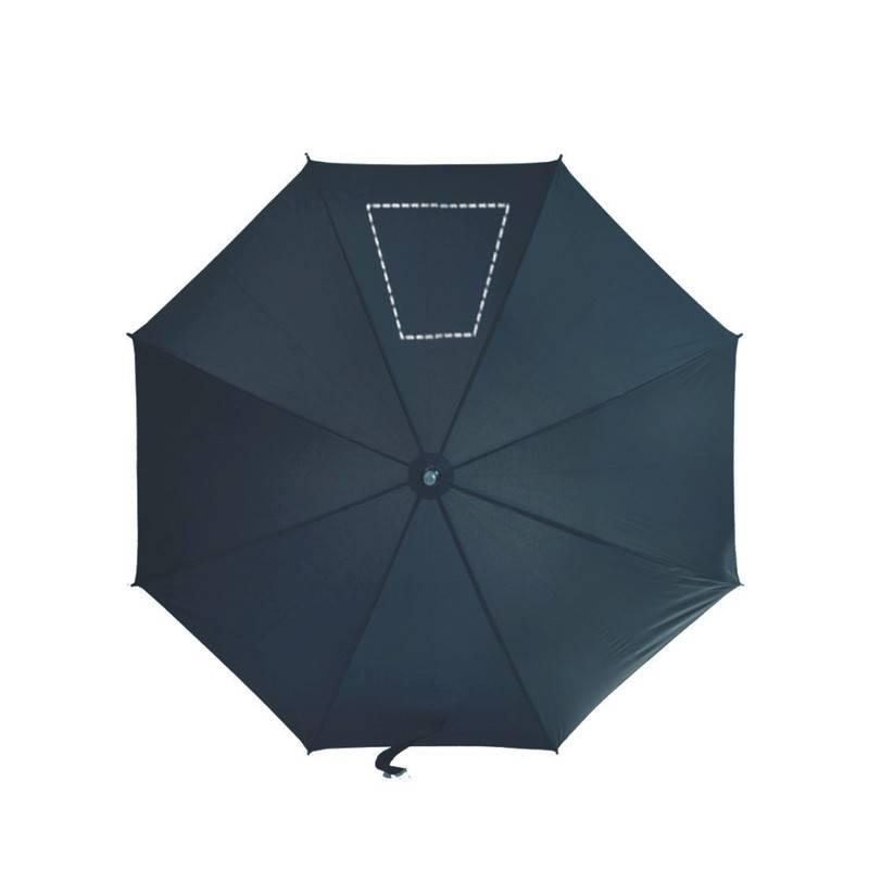 Paraguas con luz y linterna 1