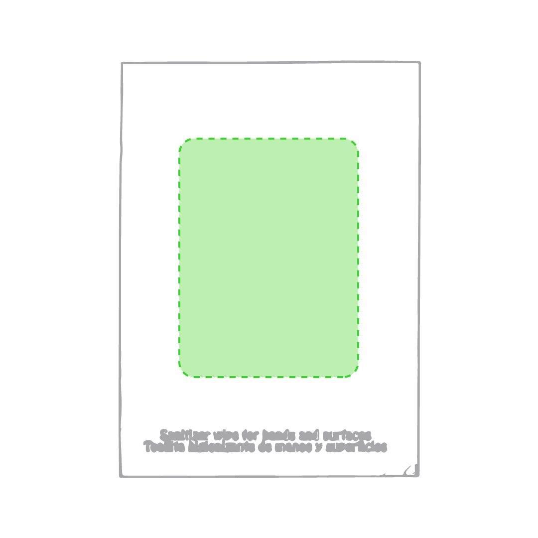 Sobres individuales con toallita desinfectante 1
