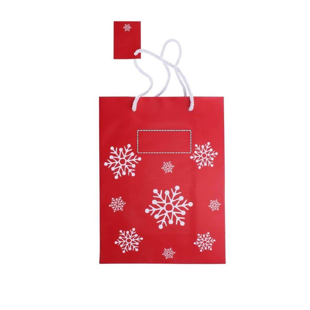 Bolsa de navidad para regalo mediana 2