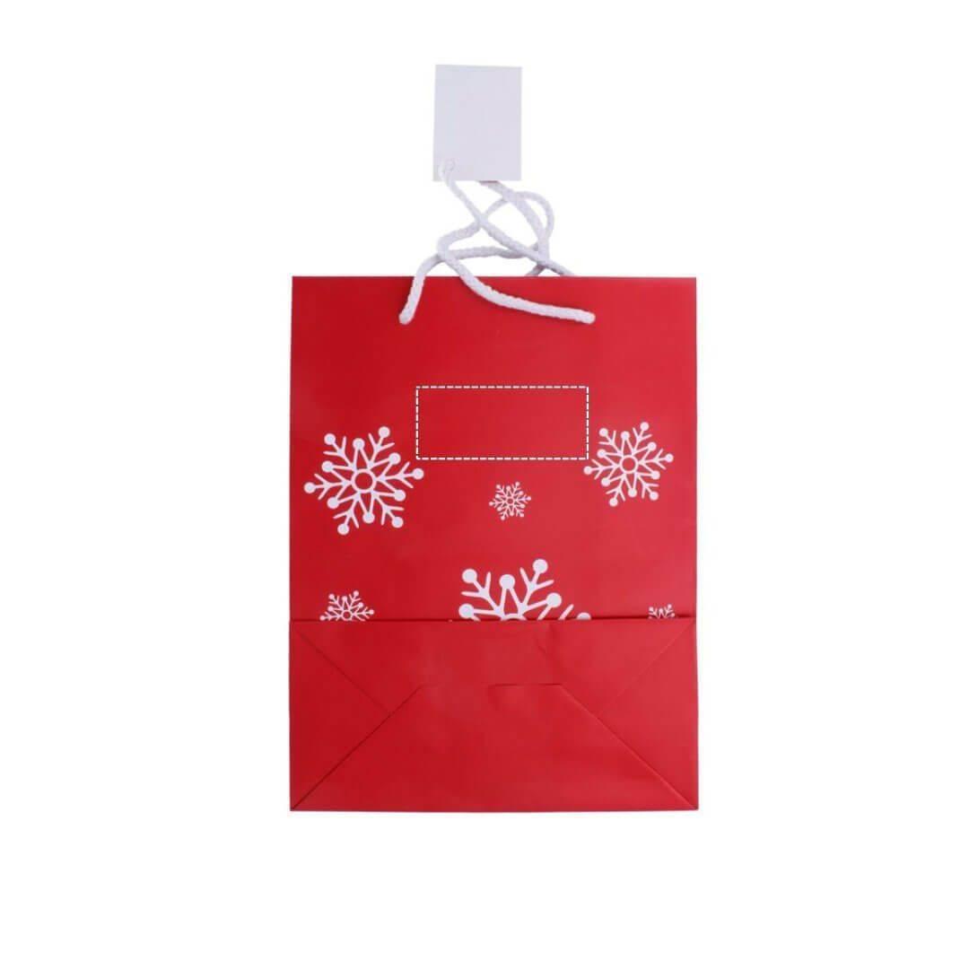 Bolsa de navidad para regalo mediana 3