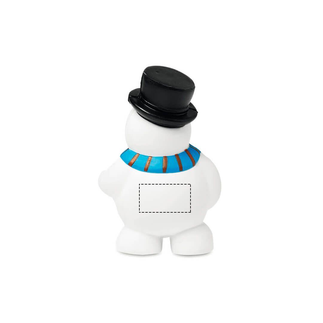 Muñeco de nieve antiestrés 1