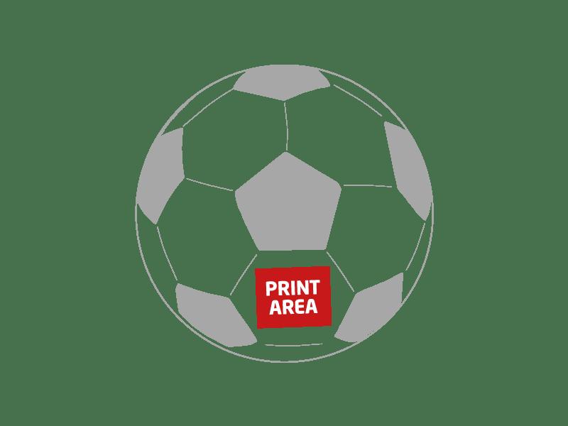 Pelota de fútbol antiestrés 10 cm 1