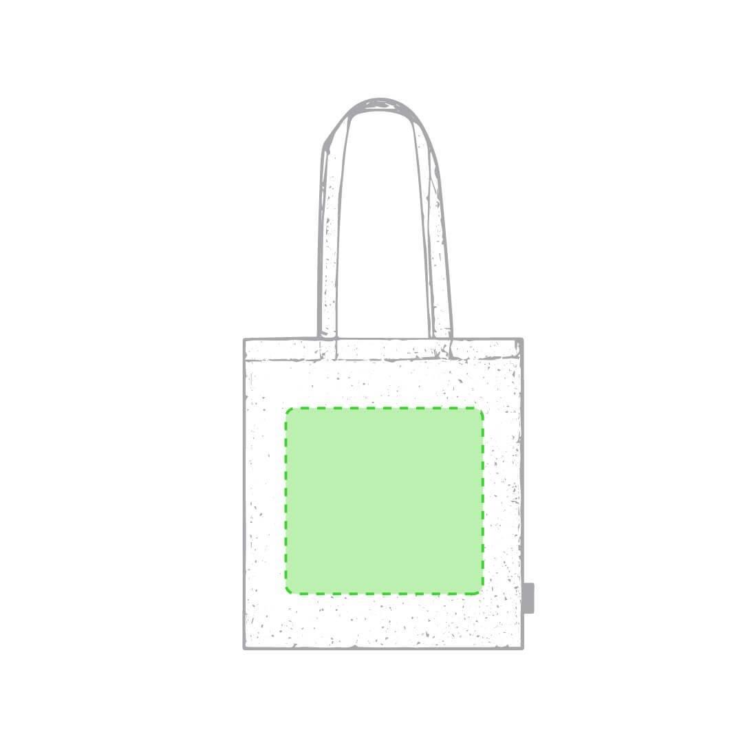 Bolsa de algodón orgánico 120 gr/m2 1