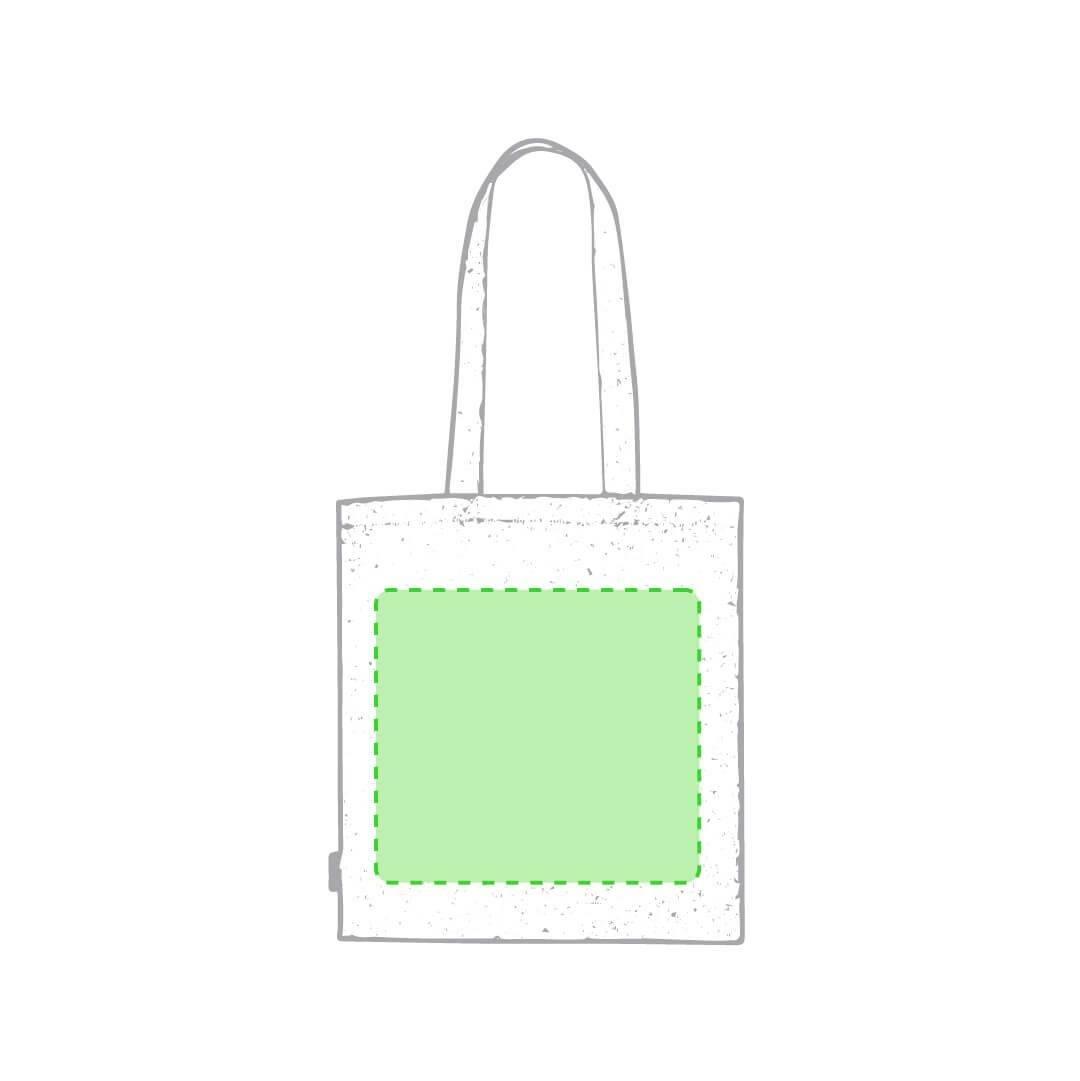 Bolsa de algodón reciclado 120 gr/m2 1