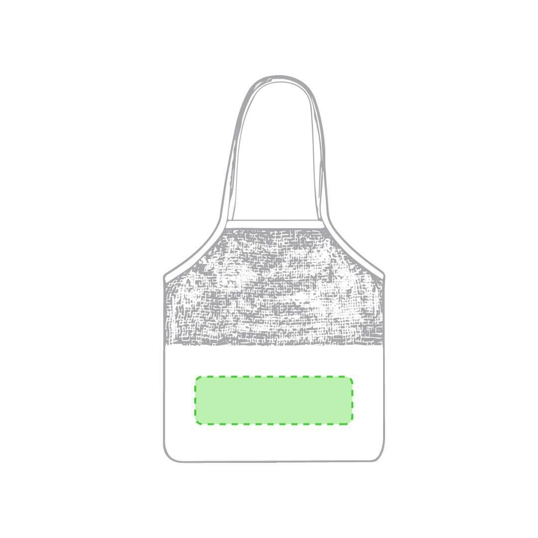 Bolsa de redecilla de algodón 1