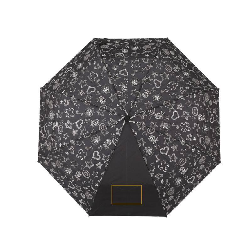 Paraguas plegable de tejido inteligente 1