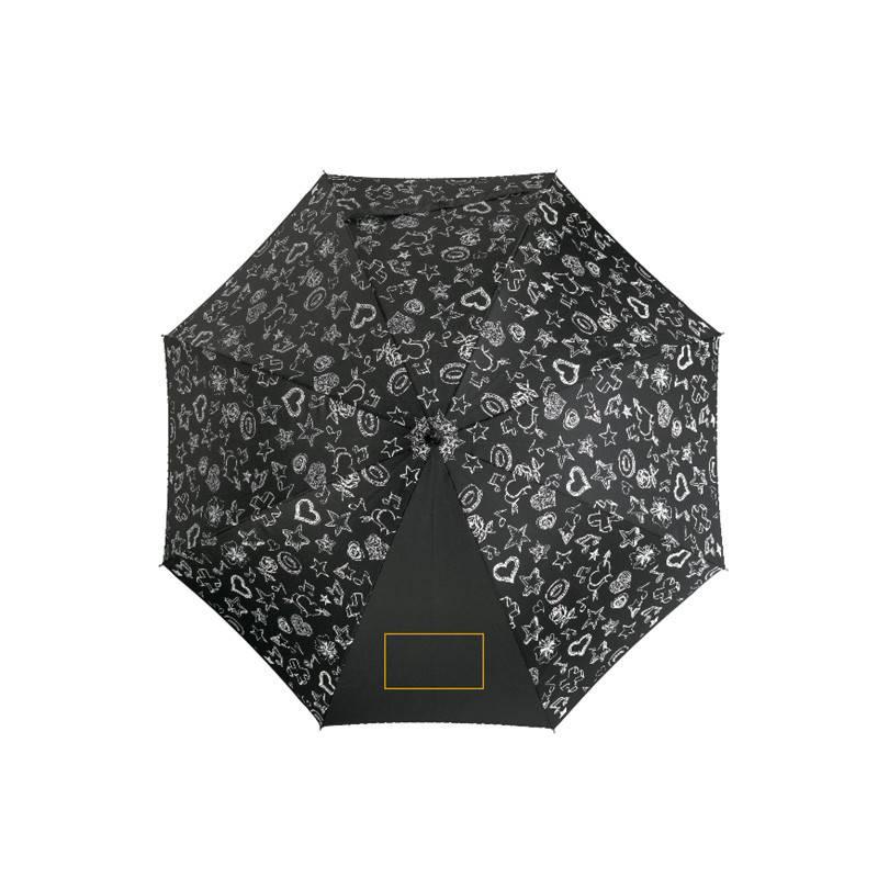 Paraguas automático de tejido inteligente 1