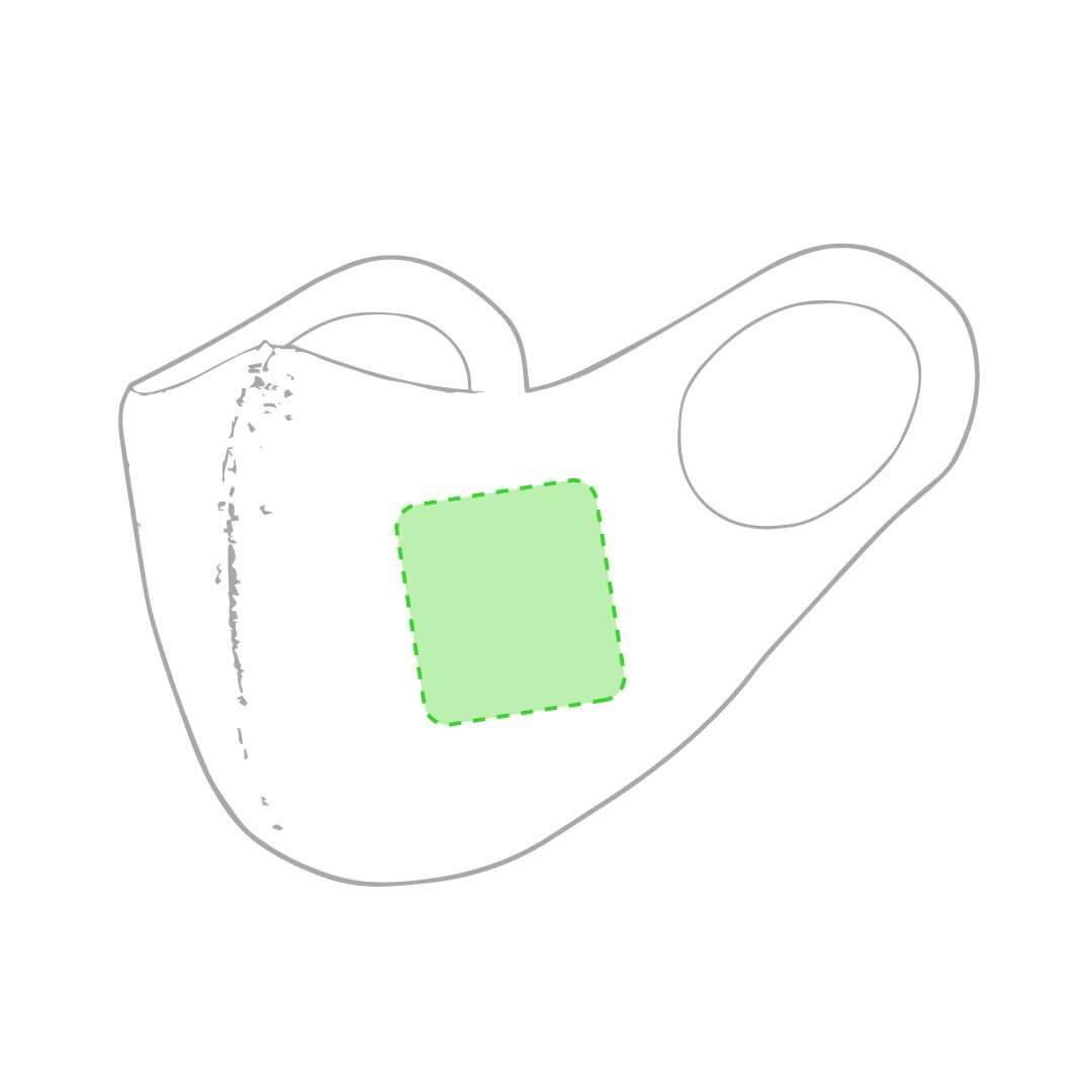 Mascarilla higiénica elástica reutilizable 1