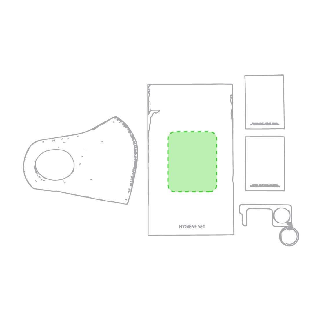 Kit antivirus con mascarilla y llavero 5