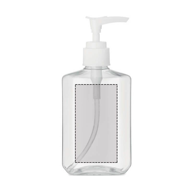 Botella rellenable con dosificador 200 ml 1