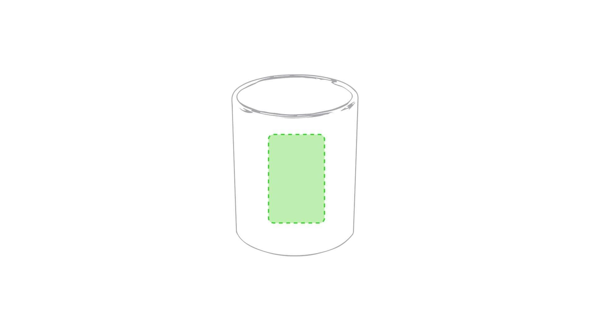 Taza cerámica blanca para engraving 2