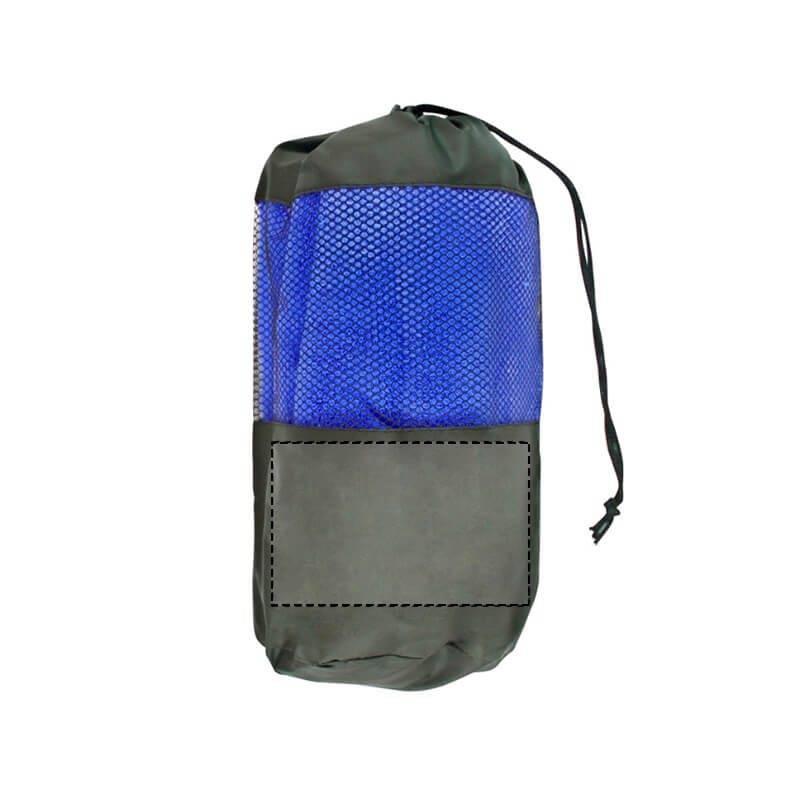 Toalla de microfibra con bolsa de rejilla 2