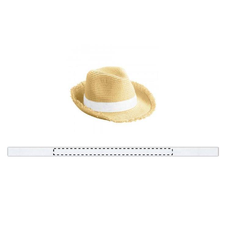 Sombrero con flecos Puerto Rico 1