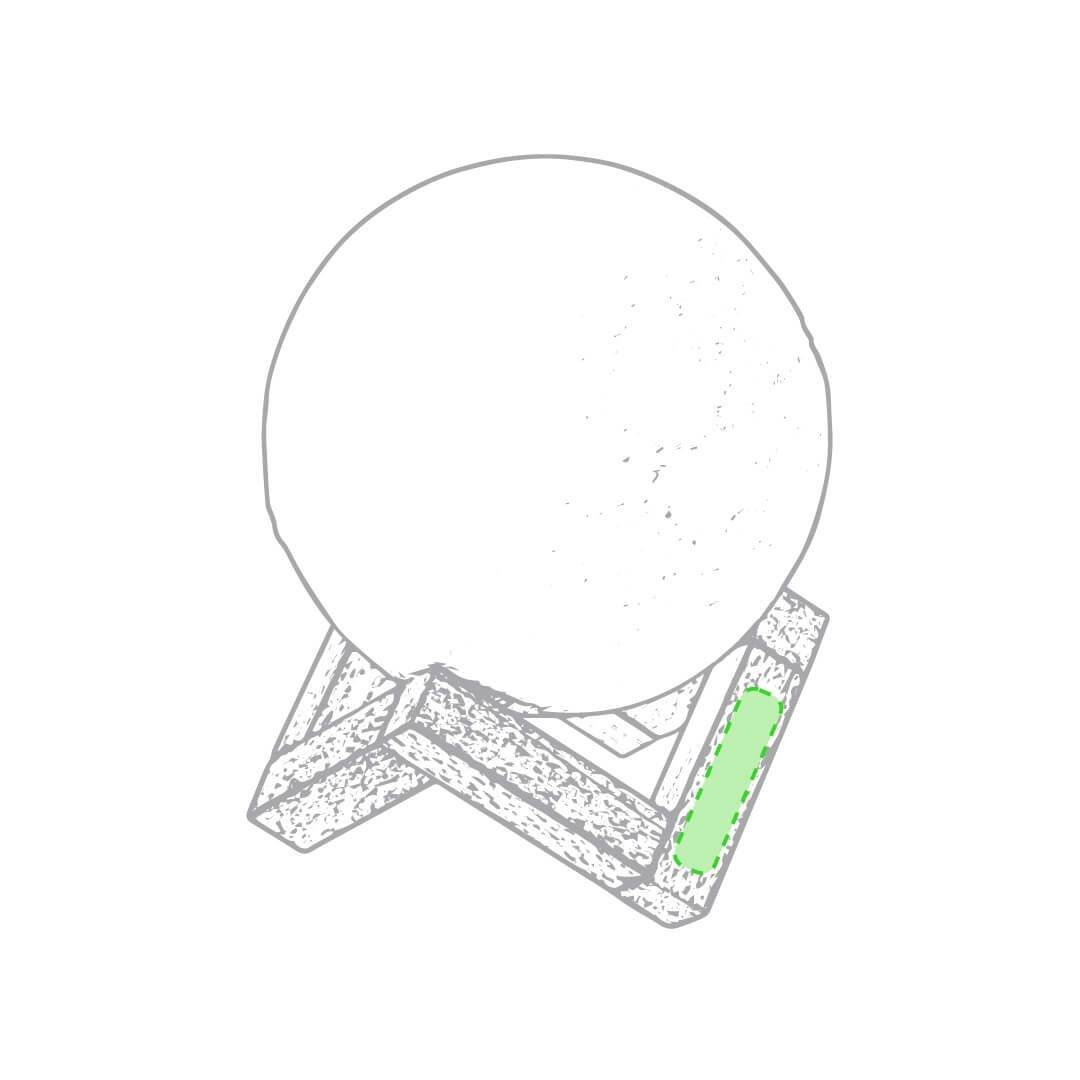 Altavoz con forma de luna 2