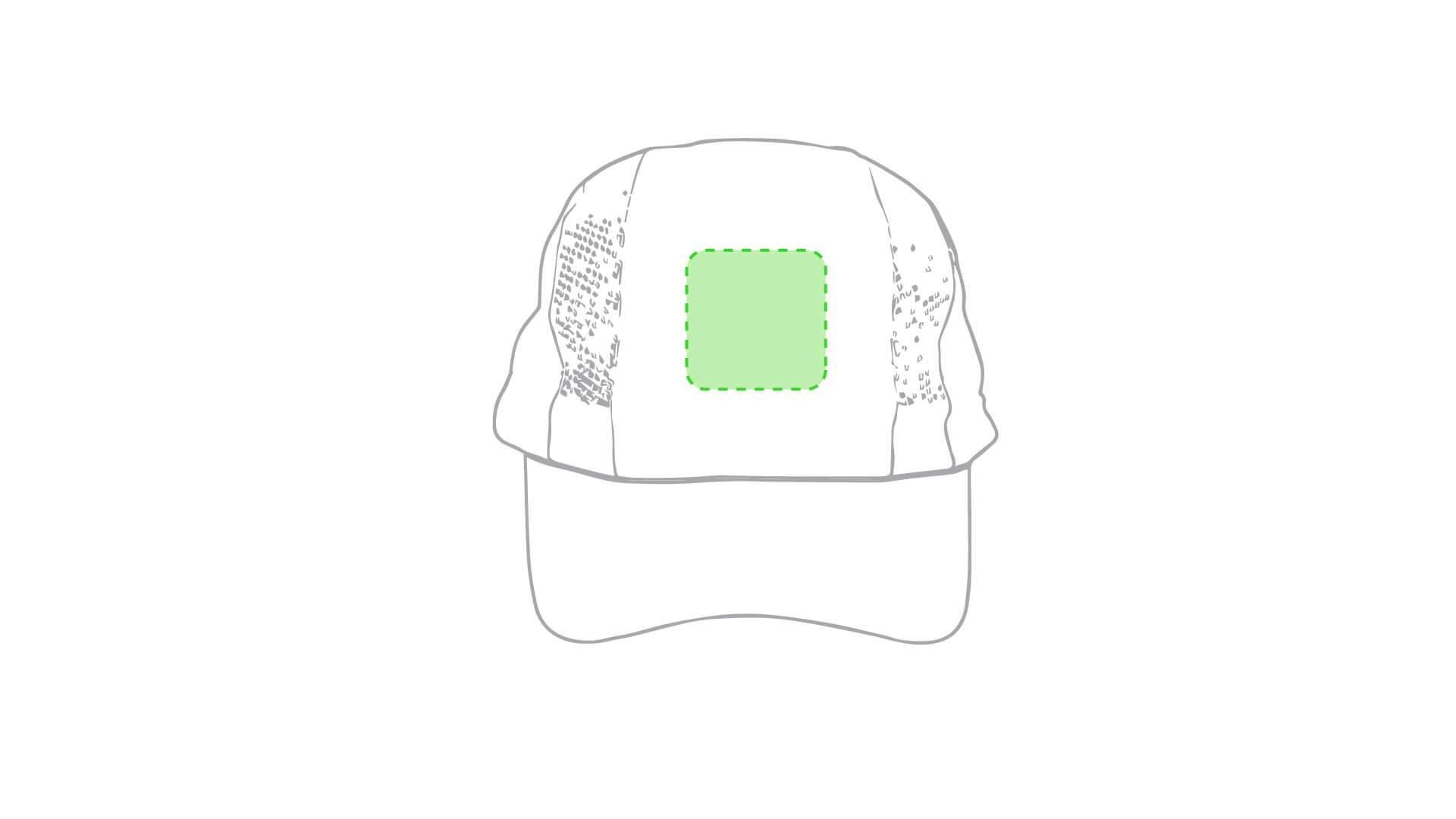 Gorra de microfibra blanca 1