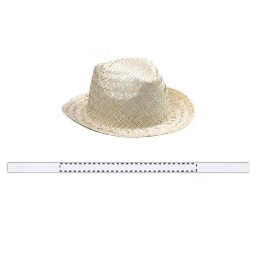 Sombrero de paja Sara 1